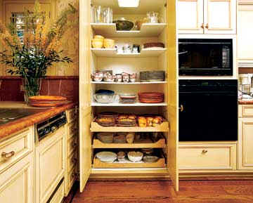 Kitchen Pantry Cupboard Over All Interior Dimensions